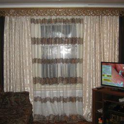 Текстильный бум. Дизайнер в салоне штор Агаларова  Ольга. Пошив и фото штор в интерьере 2016