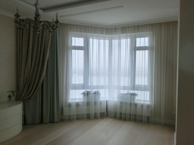 Покрывала, шторы. Спальня на Лесной. Шторуз.ру