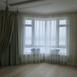 Спальня на Лесной. Салон штор Garden rose. Спальня. Пошив и фото штор в интерьере 2016