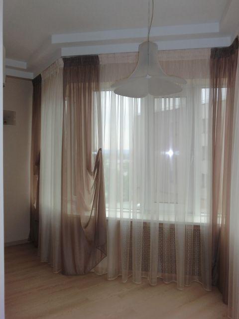 Шторы. Балкон на Молодогвардейской. Шторуз.ру
