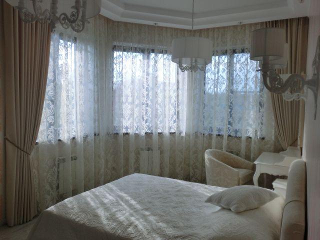 Шторы. Спальня в Царевщине. Шторуз.ру