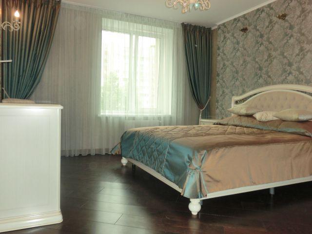Шторы, покрывала. Спальня на Осипенко. Шторуз.ру