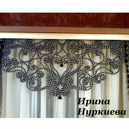 Драпировки для гостиной.  Нуркиева Ирина. Гостиная. Пошив и фото штор в интерьере 2016
