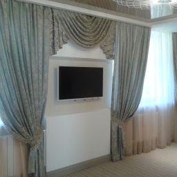 Спальня в Ревде. Салон штор Дом Дизайна. Спальня. Пошив и фото штор в интерьере 2016