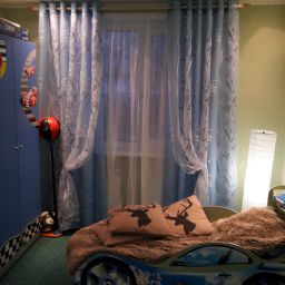 Спальня и детская. Салон штор Дом Дизайна. Детская. Пошив и фото штор в интерьере 2016