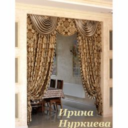 Оформление ВИП-зоны. Частный дизайнер по шторам Нуркиева Ирина. Пошив и фото штор в интерьере 2016