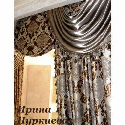 Классические драпировки. Частный дизайнер по шторам Нуркиева Ирина. Пошив и фото штор в интерьере 2016