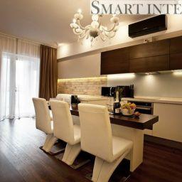 Квартира ведущего нападающего команды СКА. Салон штор Smart Interiors. Пошив и фото штор в интерьере 2016