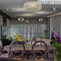 Апартаменты на Песочной набережной. Салон штор Smart Interiors. Пошив и фото штор в интерьере 2016
