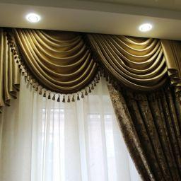 Шторы для прихожей. Частный дизайнер по шторам Нуркиева Ирина. Холл, прихожая. Пошив и фото штор в интерьере 2016