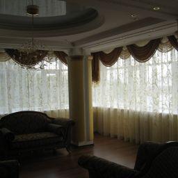 Гостиная. Салон штор paseka11@yandex.ru. Пошив и фото штор в интерьере 2016