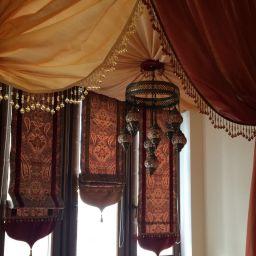 Кальянная . Частный дизайнер по шторам Калышницына Софья. Прочее. Пошив и фото штор в интерьере 2016