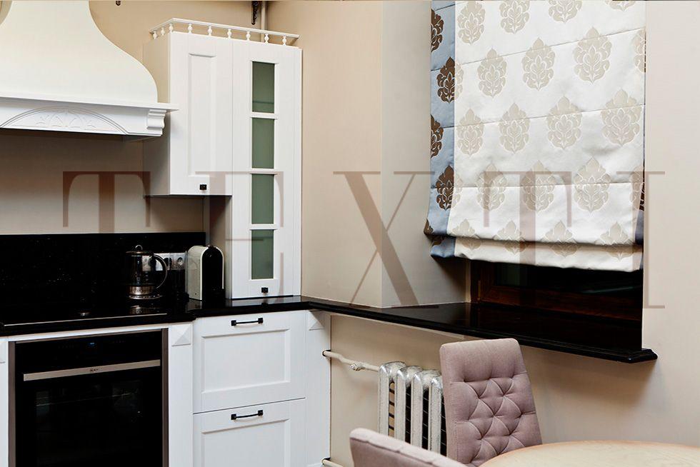 Шторы. Кухня в квартире на Плотниковом. Шторуз.ру