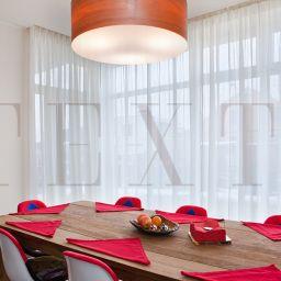 Кухня - КП Серебрянная подкова. Салон штор TEXTI. Столовая. Пошив и фото штор в интерьере 2016