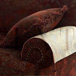 Шторы, чехлы на мебель. Гостиная в КП Бавария. Шторуз.ру