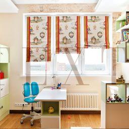 Детская мальчика на Первомайской. Салон штор TEXTI. Детская. Пошив и фото штор в интерьере 2016