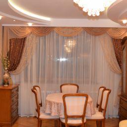 Гостиная в Марьино. Частный дизайнер по шторам Калышницына Софья. Гостиная. Пошив и фото штор в интерьере 2016