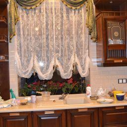 Кухня в Малебке. Салон штор Салон-ателье. Кухня. Пошив и фото штор в интерьере 2016