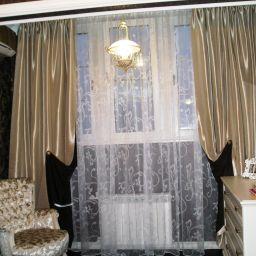 Спальня для девушки. Частный дизайнер по шторам Левченко Лилия. Спальня. Пошив и фото штор в интерьере 2016