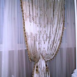 Спальня. Частный дизайнер по шторам Левченко Лилия. Спальня. Пошив и фото штор в интерьере 2016