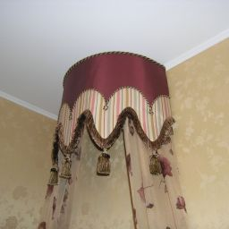 Детская. Квартира в Троицке. Покрывала, подушки, балдахин, шторы в детскую. Шторуз.ру