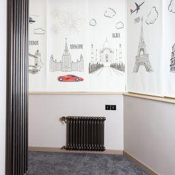 Детская. Квартира в Москве. Потолочный карниз в детскую. Шторуз.ру