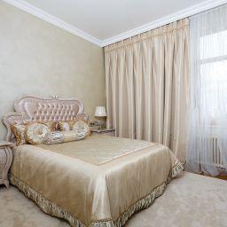 Спальня.. Частный дизайнер по шторам shelk2011@mail.ru. Спальня. Пошив и фото штор в интерьере 2016