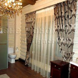 Бани. Ванные комнаты. Салон штор Флер. Пошив и фото штор в интерьере 2016