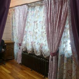 """Загородный дом . Салон штор Салон штор """"Важный штрих"""". Спальня. Пошив и фото штор в интерьере 2016"""