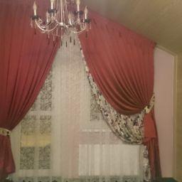 """Яркий розовый. Салон штор Салон штор """"Важный штрих"""". Спальня. Пошив и фото штор в интерьере 2016"""