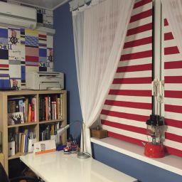 """Детская комната. студия текстильного дизайна  """"Акцент-студио""""  (Accentstudio) 2015. Шторуз.ру"""