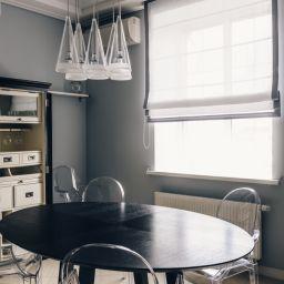 """Кухня. Салон штор студия текстильного дизайна  """"Акцент-студио""""  (Accentstudio). Кухня. Пошив и фото штор в интерьере 2016"""