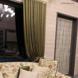 Гостиная - Стильный прованс. Салон штор ABiART HOME. Гостиная. Пошив и фото штор в интерьере 2016