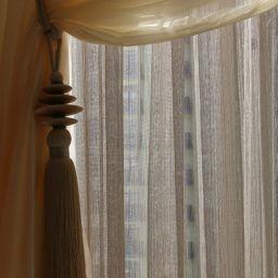 Столовая ул. Мосфильмовская. Салон штор ABiART HOME. Столовая. Пошив и фото штор в интерьере 2016
