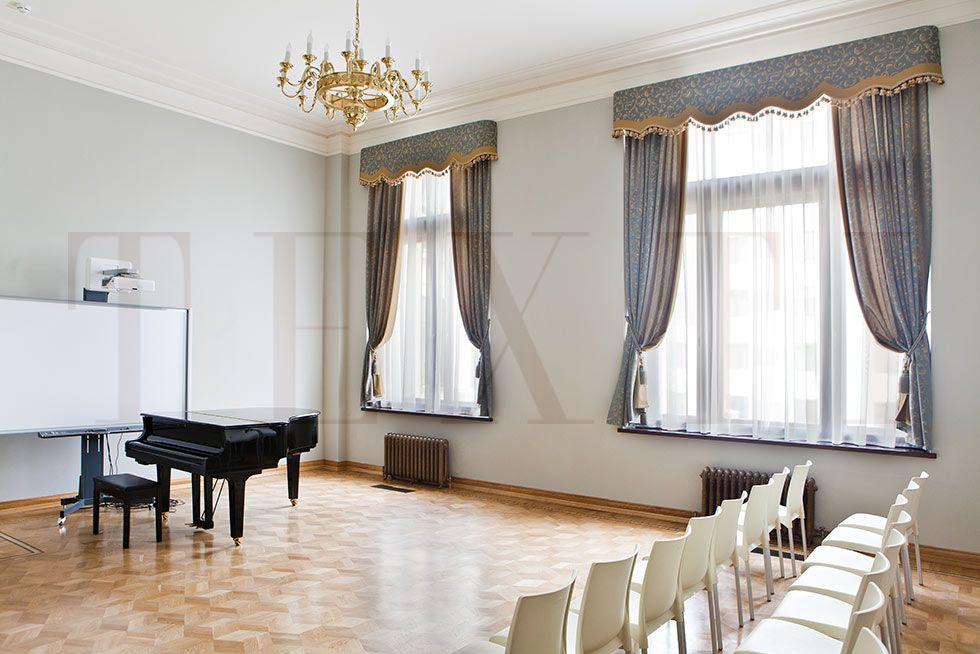 Зал для уроков музыки. TEXTI 2015. Шторуз.ру