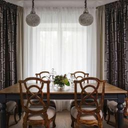 Столовая. Салон штор Корфил декор. Столовая. Пошив и фото штор в интерьере 2016