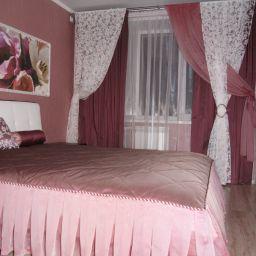 Спальни. Салон штор интерьер - ателье Bello casa. Пошив и фото штор в интерьере 2016