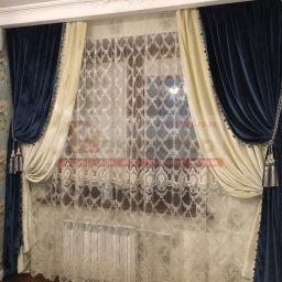 Спальня . Салон штор Декоратор. Спальня. Пошив и фото штор в интерьере 2016
