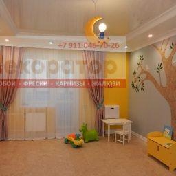 Детская комната. Салон штор Декоратор. Детская. Пошив и фото штор в интерьере 2016