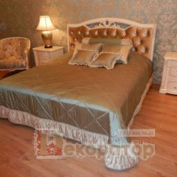 Спальня в классическом стиле. Салон штор Декоратор. Спальня. Пошив и фото штор в интерьере 2016