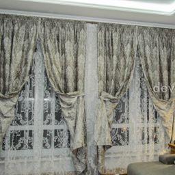 Шторы для Гостиных комнат. Салон штор Дэвуаль. Гостиная. Пошив и фото штор в интерьере 2016