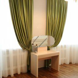 Спальная комната в ЖК Граф Орлов. Шторы в спальню. Шторуз.ру