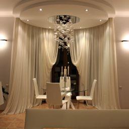 Гостинная. Салон штор АПРИОРИ. Пошив и фото штор в интерьере 2016