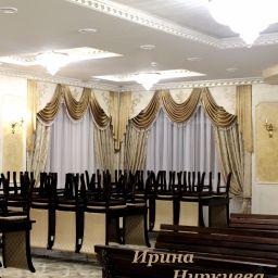 Ламбрекены для ресторана. Частный дизайнер по шторам Нуркиева Ирина. Пошив и фото штор в интерьере 2016