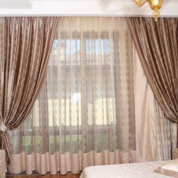 Гостевая спальня. Салон штор Салон штор Маруси Дубковой. Спальня. Пошив и фото штор в интерьере 2016