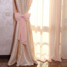 Шторы в детскую для дочки. Салон штор Салон штор Маруси Дубковой. Детская. Пошив и фото штор в интерьере 2016