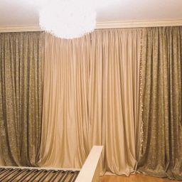 Спальня в Хлябово. Салон штор Студия ARMANDI. Спальня. Пошив и фото штор в интерьере 2016