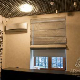 Офис на ВДНХ. Салон штор Студия ARMANDI. Кабинет. Пошив и фото штор в интерьере 2016