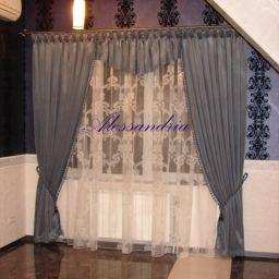 Гостиная. Салон штор Алессандрия. Спальня. Пошив и фото штор в интерьере 2016