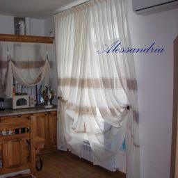 Столовая,кухня. Салон штор Алессандрия. Пошив и фото штор в интерьере 2016